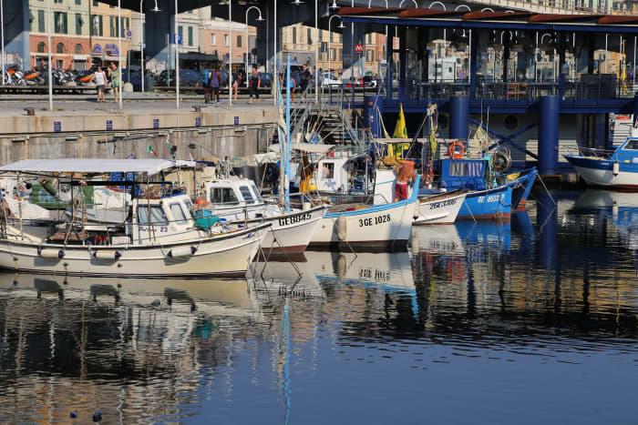 Port of Genoa.