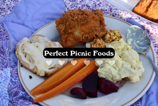 Picnics are like buffets. You want to try many foods and not get stuck eating just one thing.