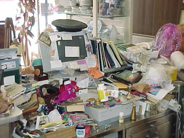 Excessive Clutter!