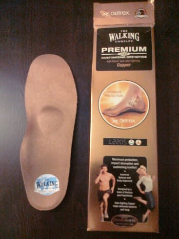 The Walking Company Copper Metatarsal Pad