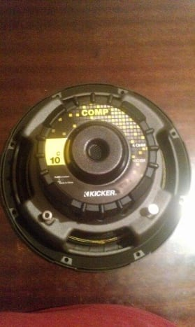 My Choice Under or around $50 - the Kicker 10C104 Comp 10-Inch Subwoofer
