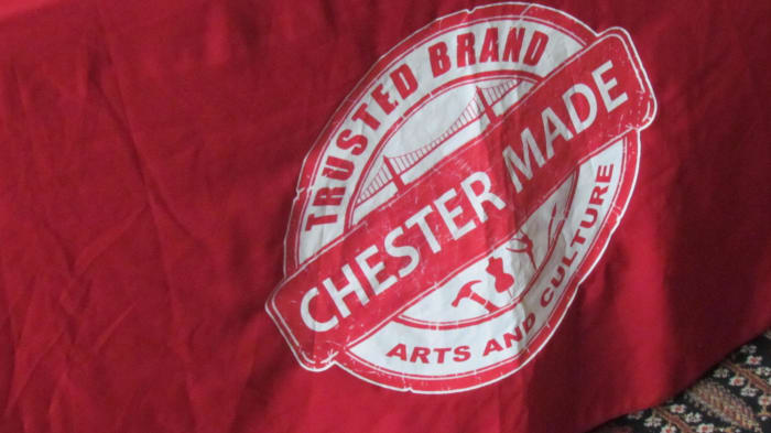 The Chester Made logo was created by Devon Walls to inspire the residents of the city of Chester.