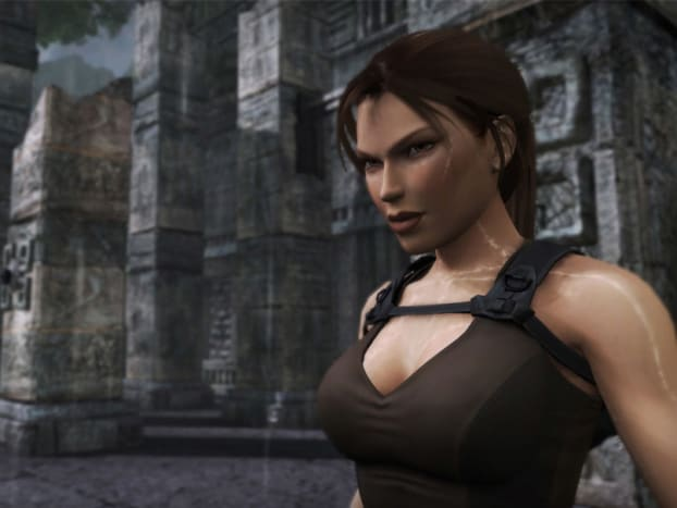 Lara Croft as depicted in Tomb Raider Underworld