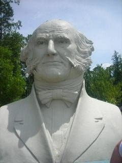"Martin Van Buren intrigues me.  He was 5'-6"" tall.  I may add a height column onto the table if I can verify the heights of the Presidents.  This was the first president actually born in the United States.when it was the United States."