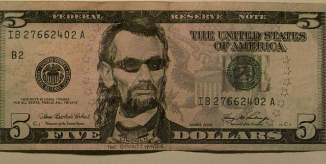 Is this bill counterfeit?