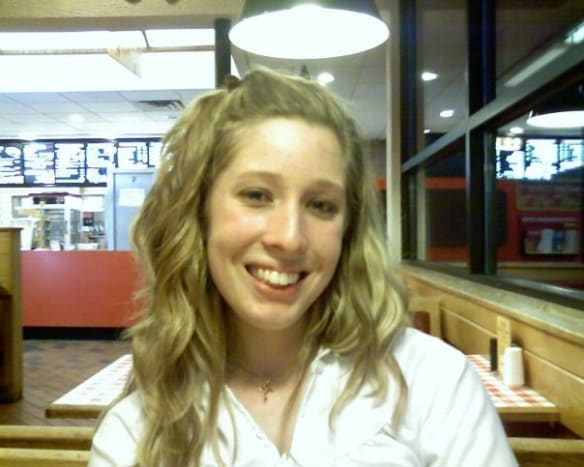 August 2008: Before braces and before surgery. Holy, Bugs Bunny!