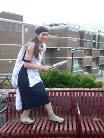 "In college, I made my own San costume inspired by ""Princess Mononoke."""