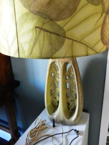 The lamp looks stubby and I have decided to add a 3 inch neck to bring the shade up higher.