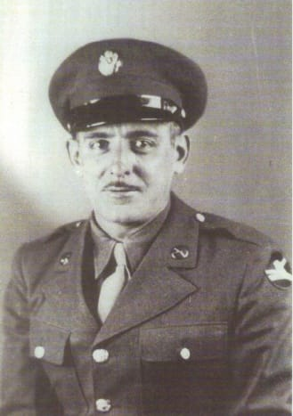 The Hub authors father Private Aloysius A. Bachner, Regimental Headquarters Company, Second Battalion, 334th Infantry Regiment, 84th Division.