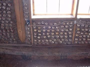 Can in-fill south solarium wall.