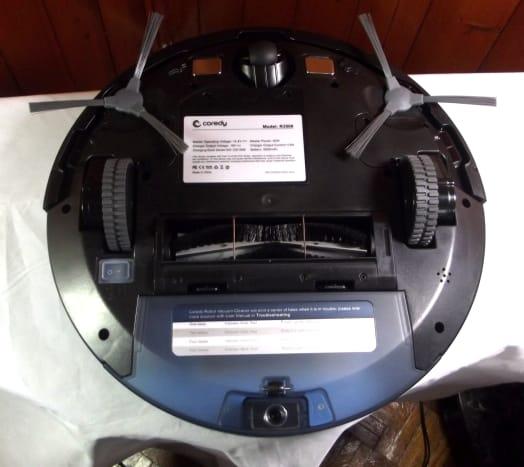 Bottom view of Imartine's Coredy R3500