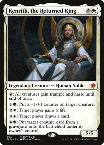 Kenrith, the Returned King mtg