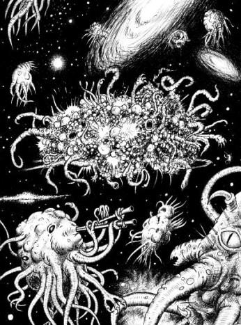 Azathoth, god of ultimate chaos