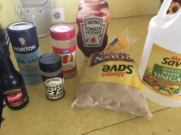 These are the needed ingredients for this recipe.