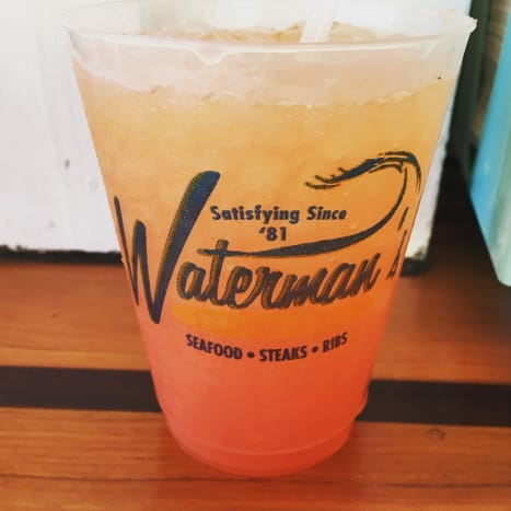 The Waterman Crush from Waterman's is one of my favorites. It's perfect for sitting and people watching on the boardwalk at the oceanfront.