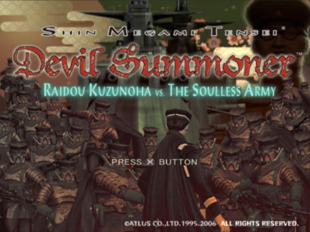 The two Raidou Kuzunoha games are spin-offs, or prequels, of Atlus' Shin Megami Tensei series.