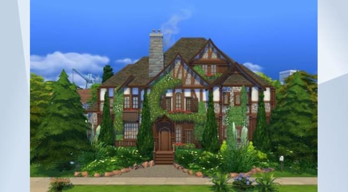 All screenshots are taken from the Sims 4 Gallery, and credit belongs to the respective builders listed!