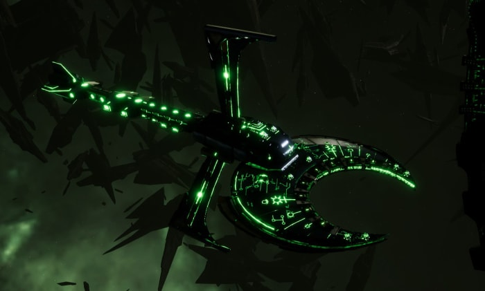 Necron Cruiser - Scythe Harrower (Charnovokh Sub-Faction)