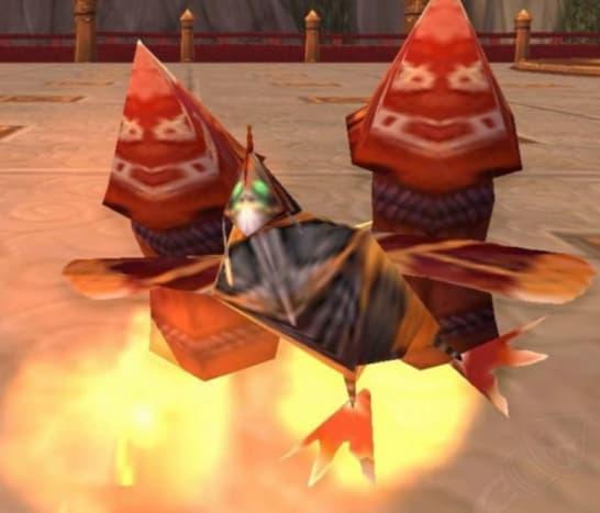 Rocket Chicken Battle Pet