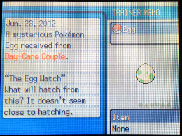 You can check your Egg's Summary to see how close it is to hatching.