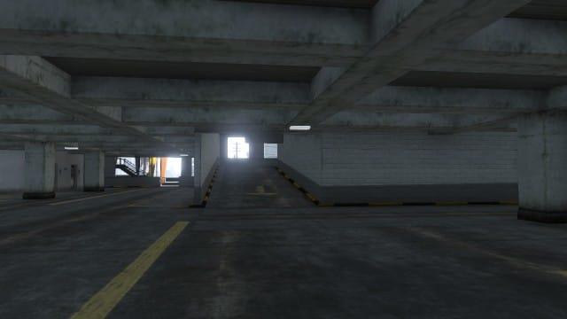 Drive the van up this ramp to keep it away from the explosions (yes there WILL be explosions).