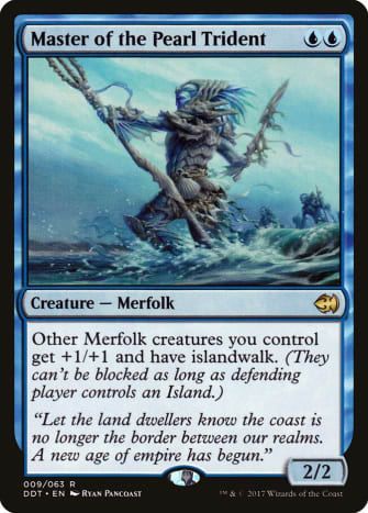 Master of the Pearl Trident mtg