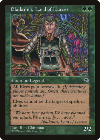 Eladamri, Lord of Leaves mtg