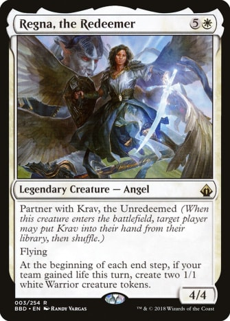 Regna, the Redeemer mtg