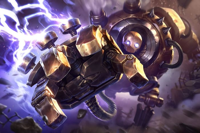 Blitzcrank is a simple but powerful engage champions with an iconic long range pull.