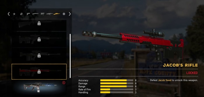 Some weapons you can open