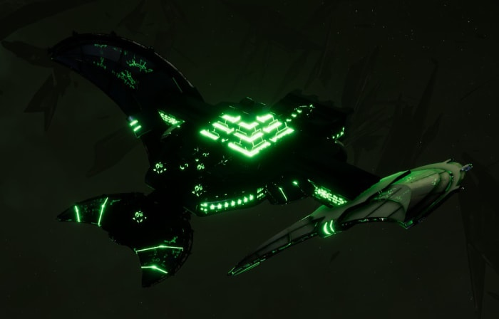 Necron Light Cruiser - Sekhem (Charnovokh Sub-Faction)