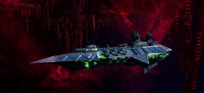 Chaos Battle Cruiser - Hecate (Alpha Legion)
