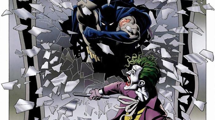 Hereeeee's Batman!