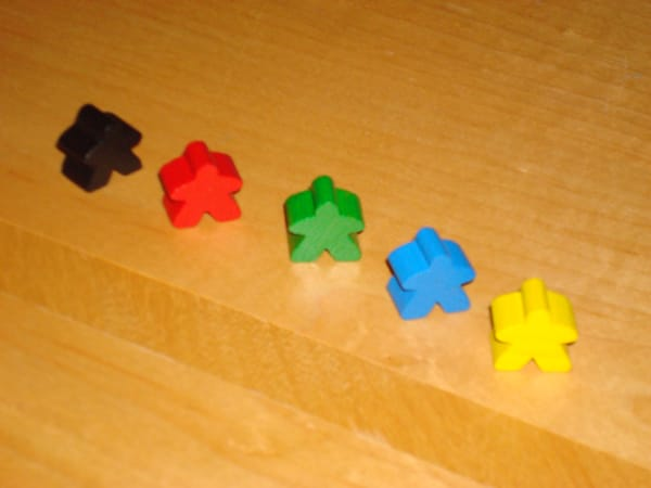Meeples: Your Game Pieces