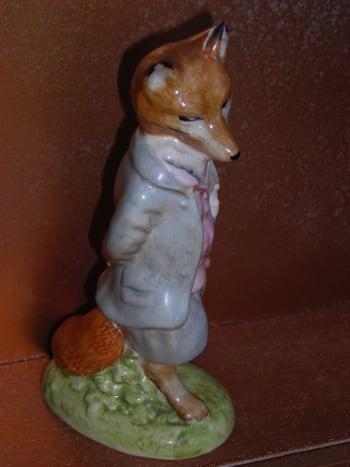 Beswick Beatrix Potter Foxy Whiskered Gentleman BP-2a (First Version, First Variation).