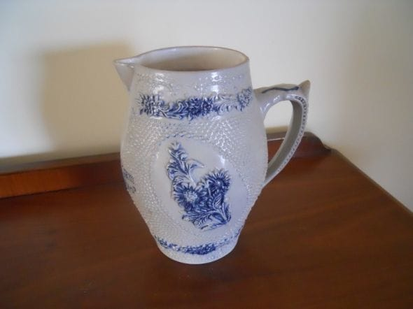 German Beer Pitcher