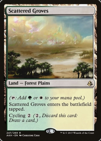 Scattered Groves in Magic: The Gathering