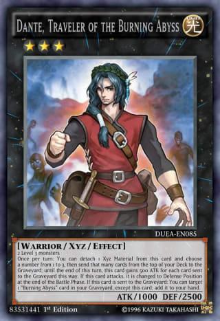 Dante, Traveler of the Burning Abyss