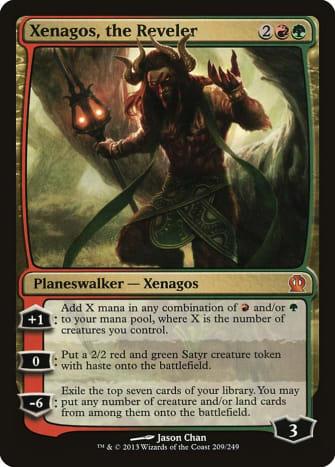 Xenagos, the Reveler mtg
