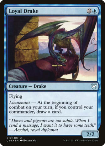 Loyal Drake mtg