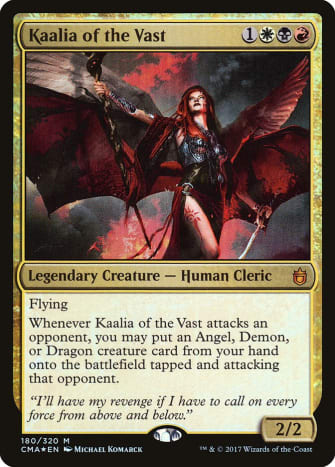 Kaalia of the Vast mtg