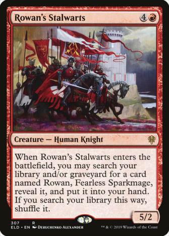 Rowan's Stalwarts mtg
