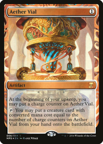 Masterpiece Aether Vial (Kaladesh)