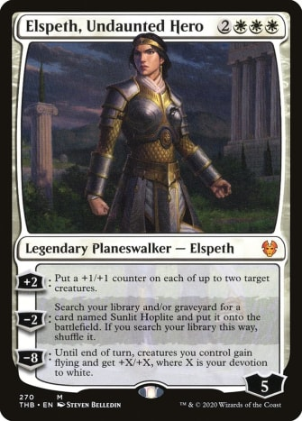 Elspeth, Undaunted Hero mtg