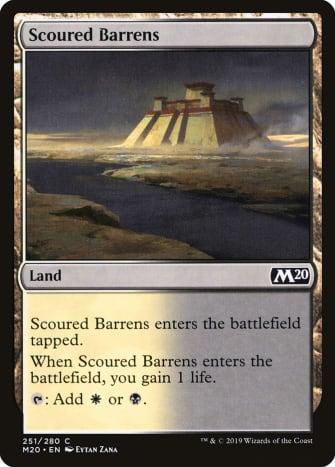 Scoured Barrens mtg