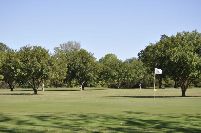 A View of the Choctaw CC Golf Course
