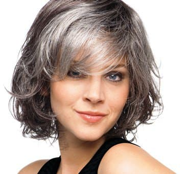 Silver Fox Hair Styles For Medium Texture Wavy Hair Bellatory Fashion And Beauty
