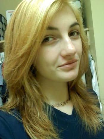 My hair was still orange and yellow and NOT light enough to attempt to dye sky blue. Surprise surprise, I did it anyways.