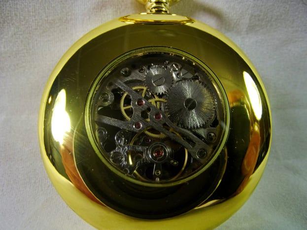 Kronen & Söhne KSP034 Mechanical Pocket Watch.