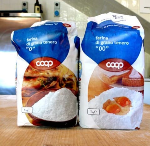 """00"" wheat flour is the top choice when making handmade pasta dough."